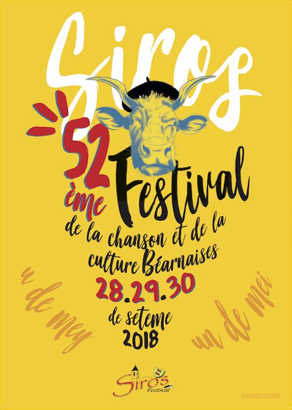 Affiche du festival de Siros 2018